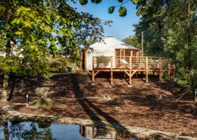 Augustiánský dům - jurta